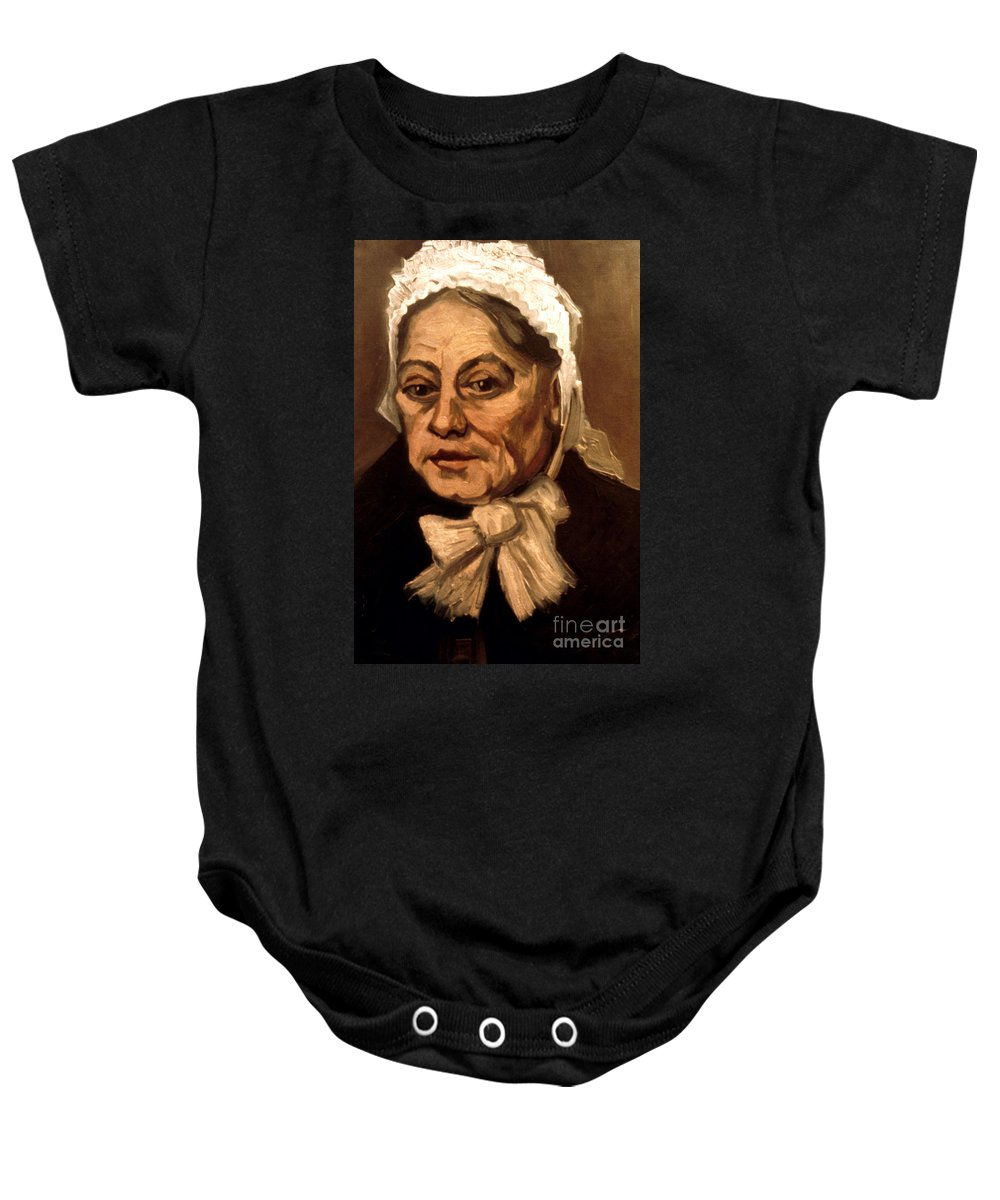 1885 Baby Onesie featuring the photograph Van Gogh: Midwife, 1885 by Granger