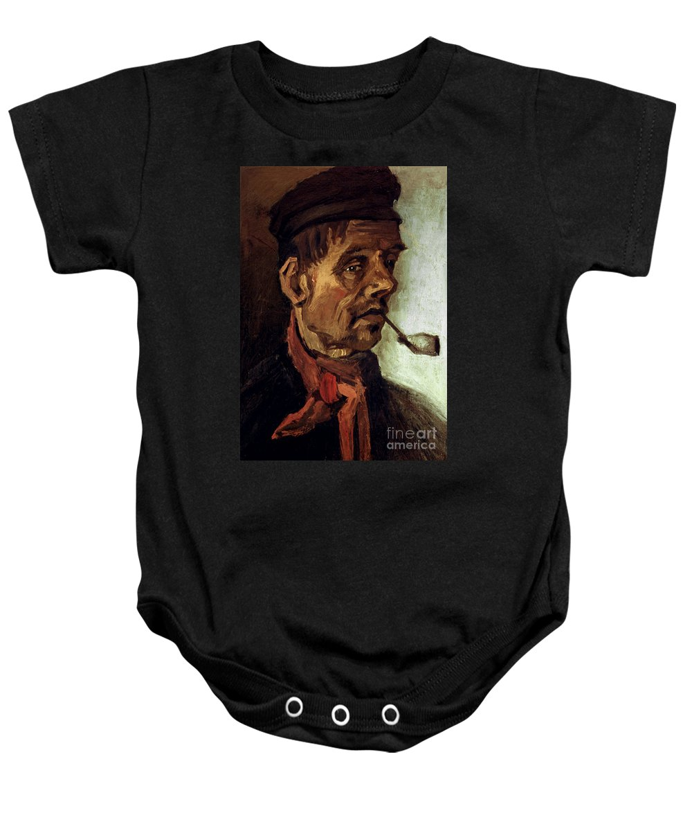 1884 Baby Onesie featuring the photograph Van Gogh: Peasant, 1884 by Granger