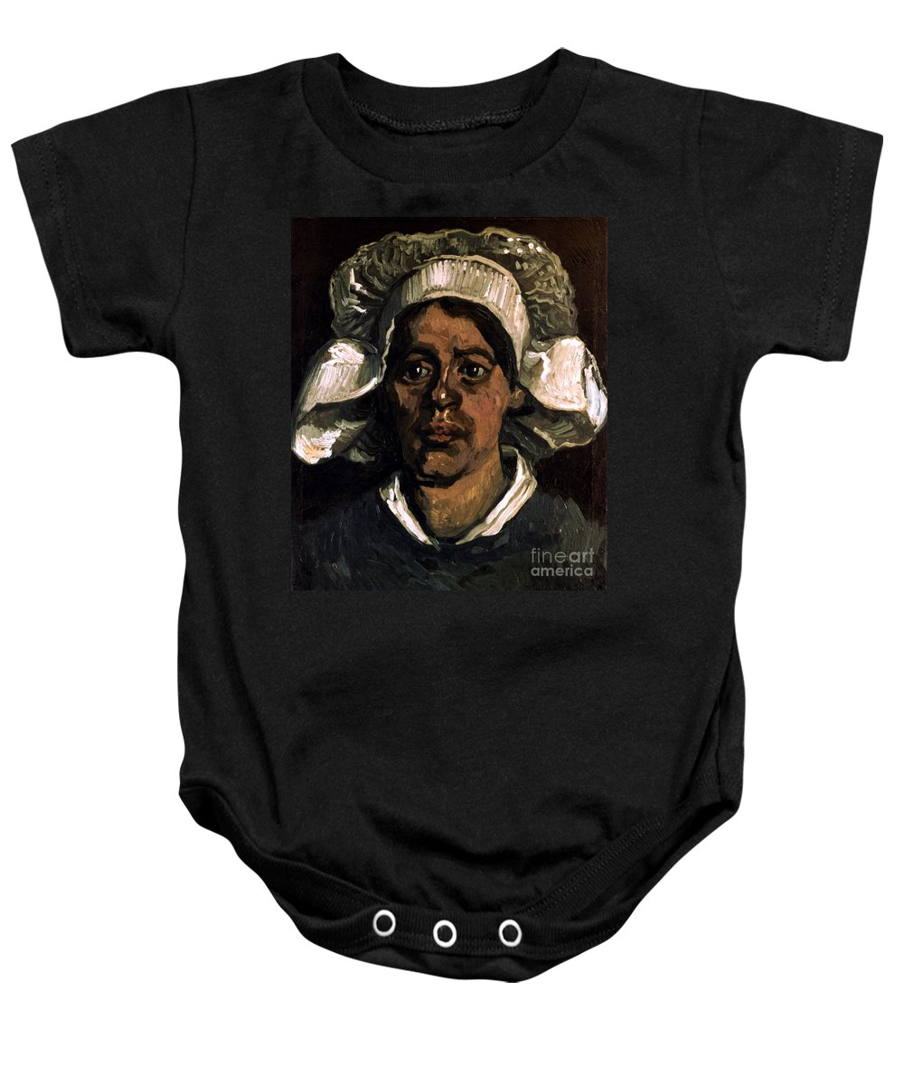 19th Century Baby Onesie featuring the photograph Van Gogh: Peasant, 19th C by Granger