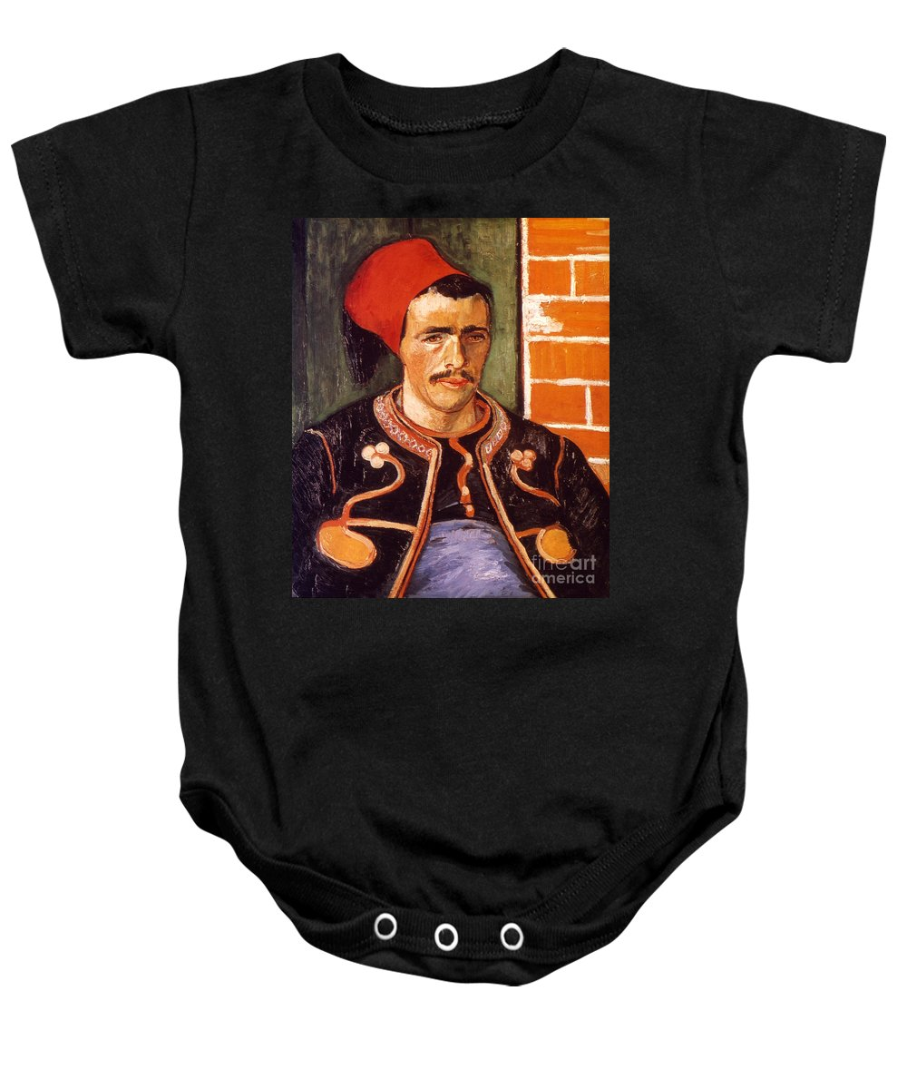 1888 Baby Onesie featuring the photograph Van Gogh: The Zouave, 1888 by Granger