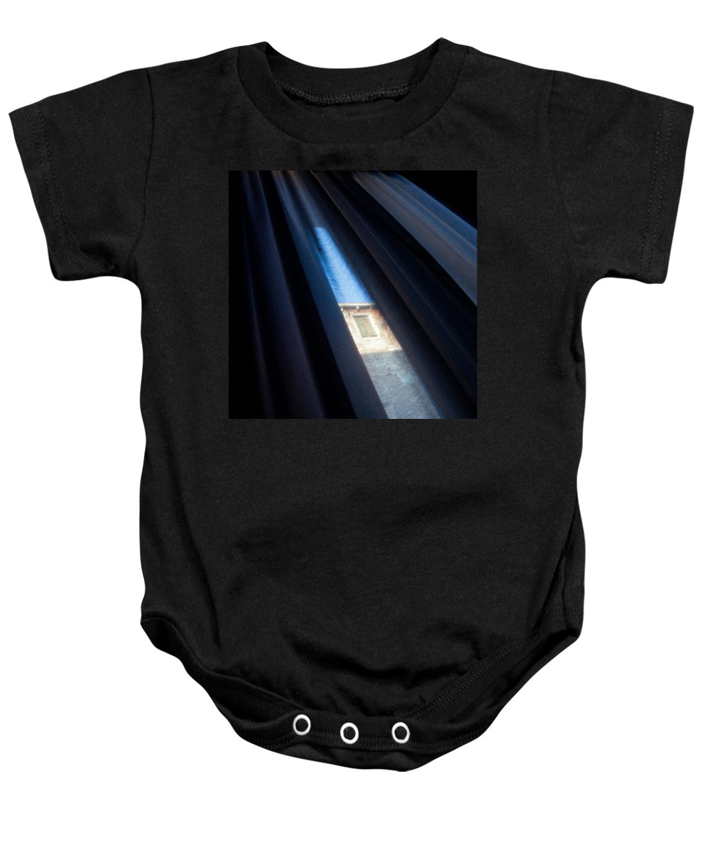 Venice Baby Onesie featuring the photograph Venetian Square by Dave Bowman