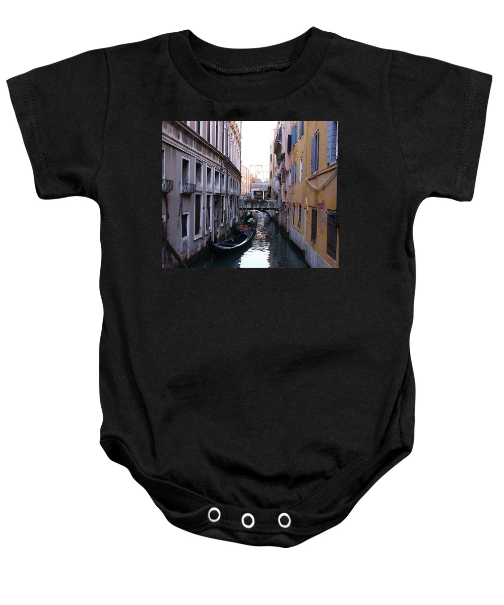 Landscape Baby Onesie featuring the photograph Venice by Jegan G Raja