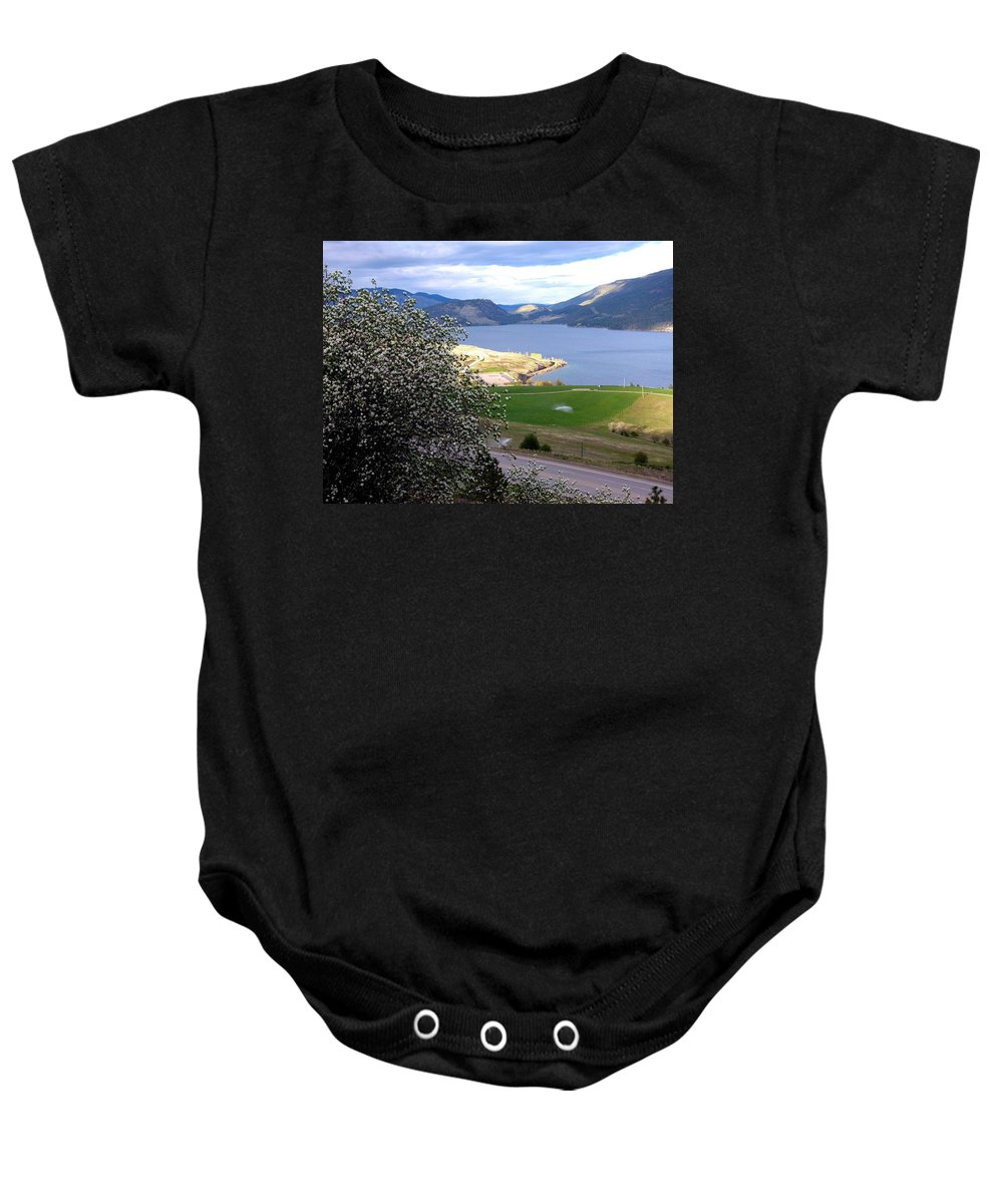 Vista 6 Baby Onesie featuring the photograph Vista 6 by Will Borden