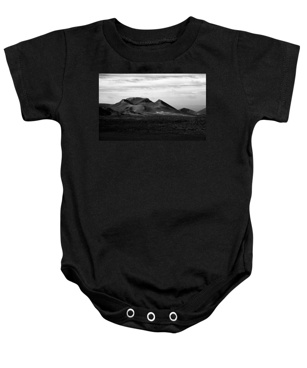 Lehtokukka Baby Onesie featuring the photograph Volcano 2 by Jouko Lehto