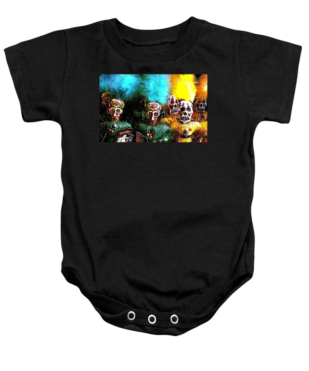 Voodoo Baby Onesie featuring the photograph Voodoo For You by Nelson Strong