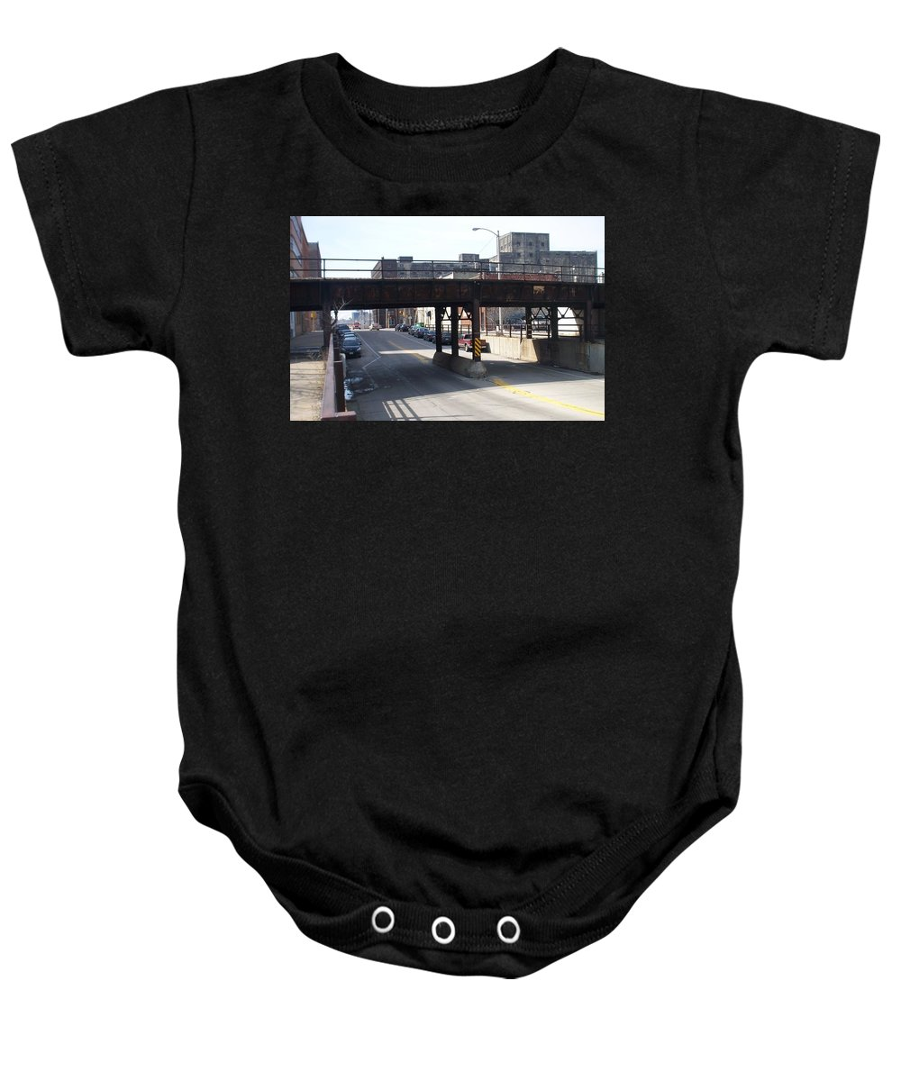 Walker's Point Baby Onesie featuring the photograph Walker's Point 4 by Anita Burgermeister