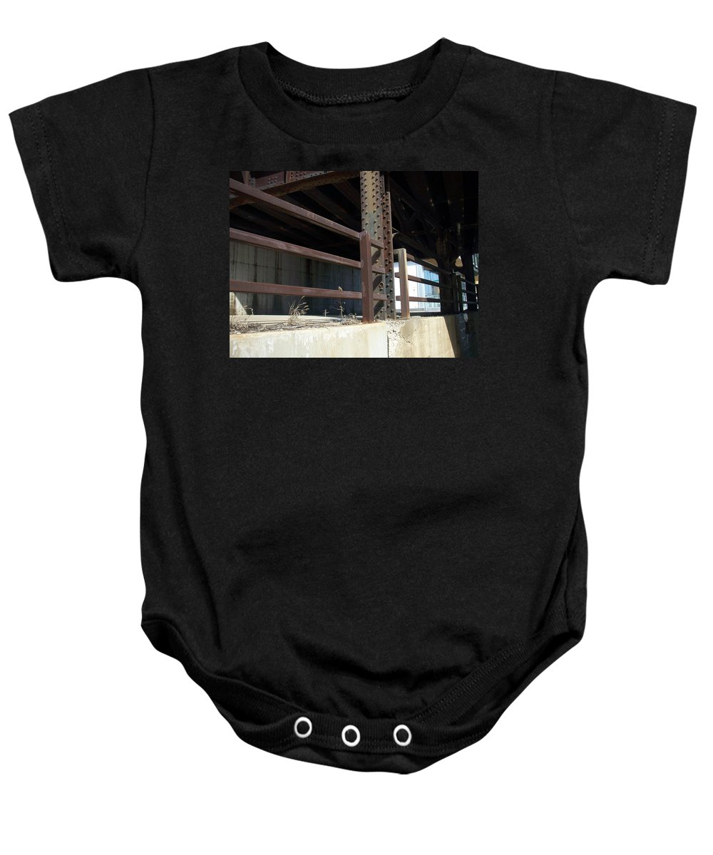 Walker's Point Baby Onesie featuring the photograph Walker's Point 8 by Anita Burgermeister