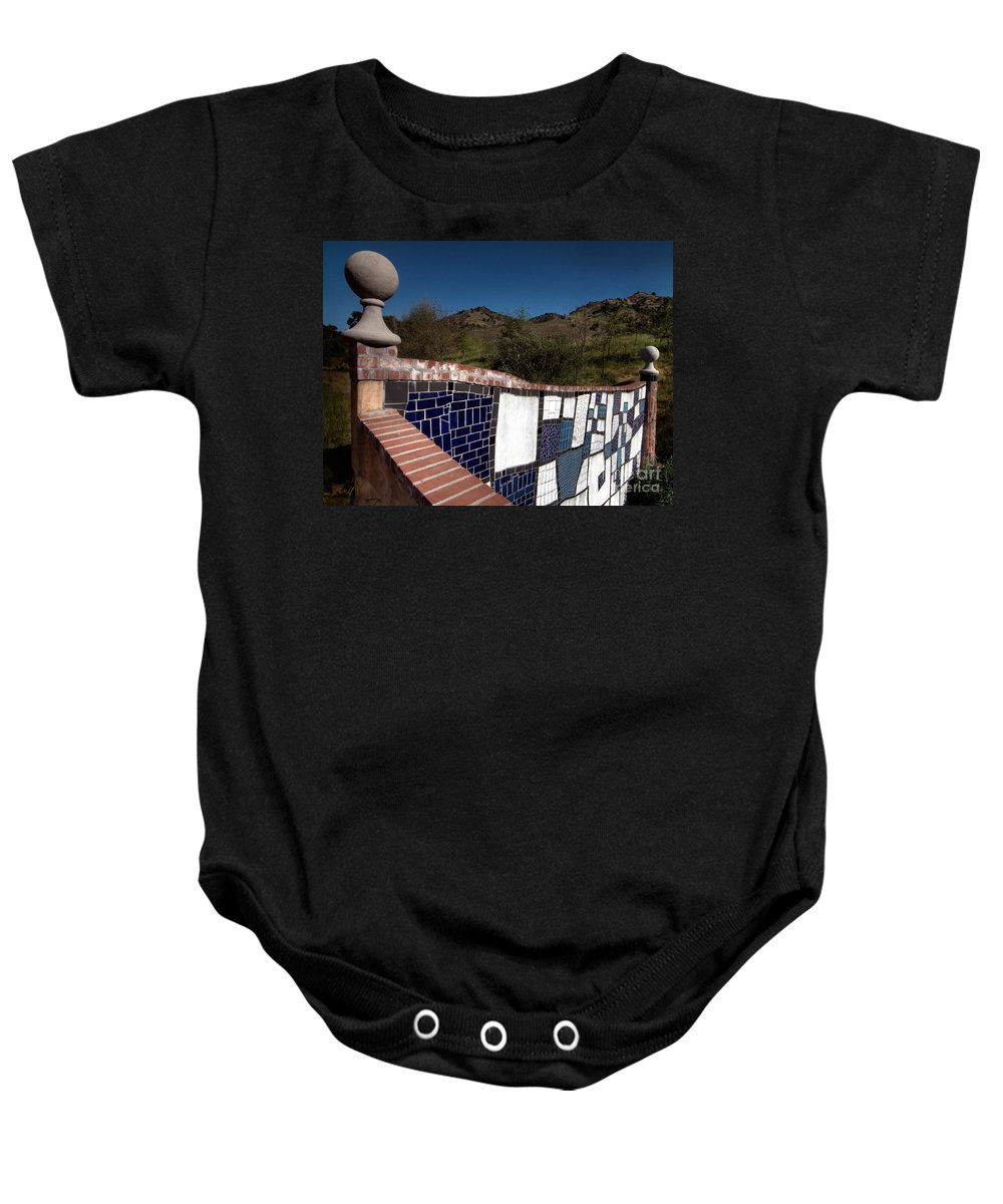 California Scenes Baby Onesie featuring the photograph Wall Balls by Norman Andrus