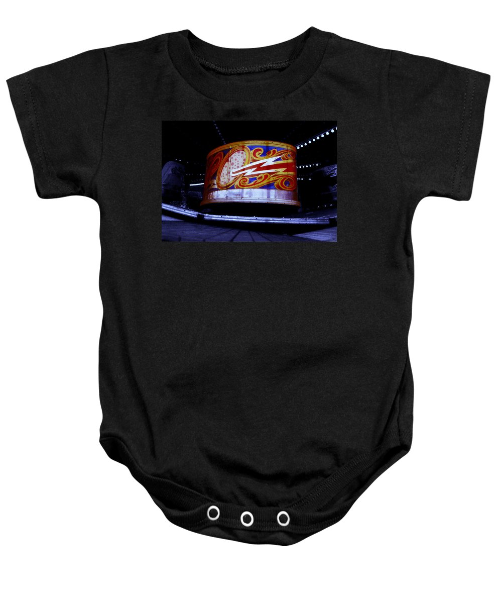 Waltzer Baby Onesie featuring the photograph Waltzer by Charles Stuart