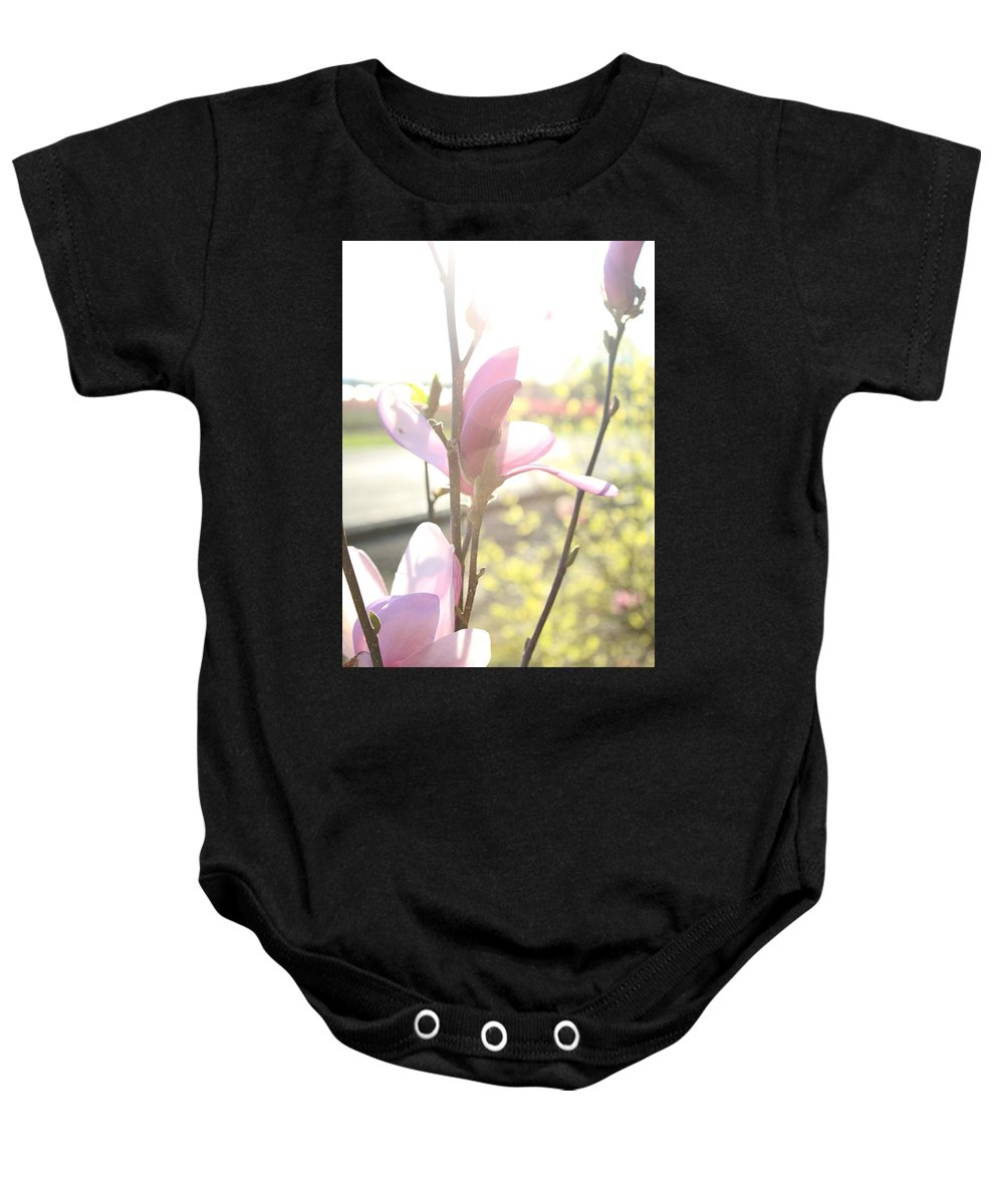 Baby Onesie featuring the photograph Warm Afternoon by Crooked Cat Art and Photography