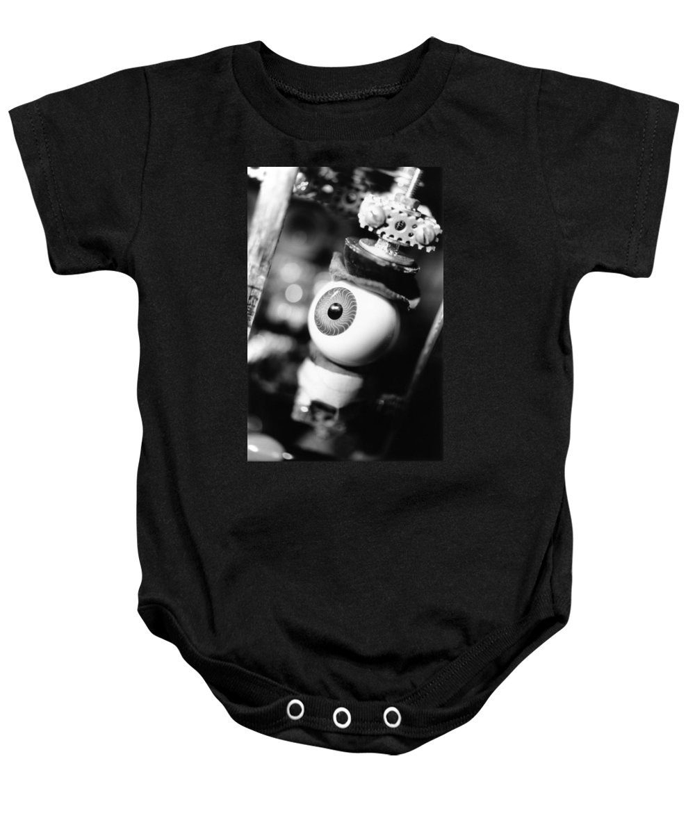 Eye Baby Onesie featuring the photograph Watching You by Jeffery Ball