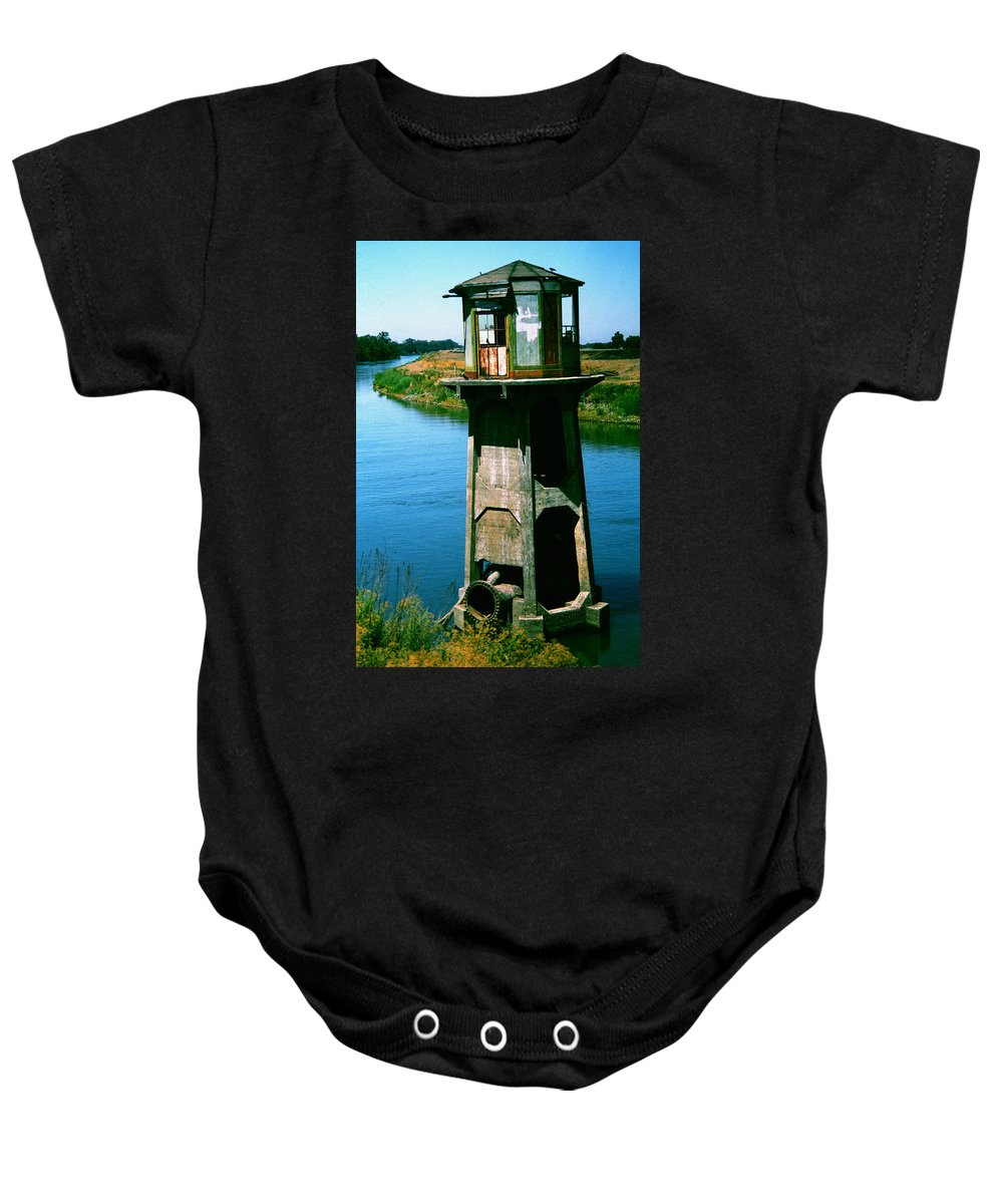 Water Treatment Baby Onesie featuring the photograph Water Treatment by Peter Piatt