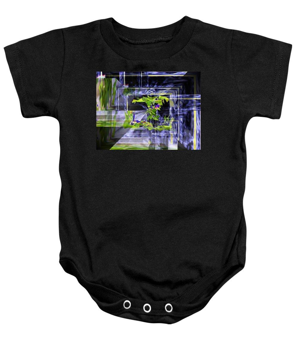 Seattle Baby Onesie featuring the photograph Waterfall Vortex by Tim Allen
