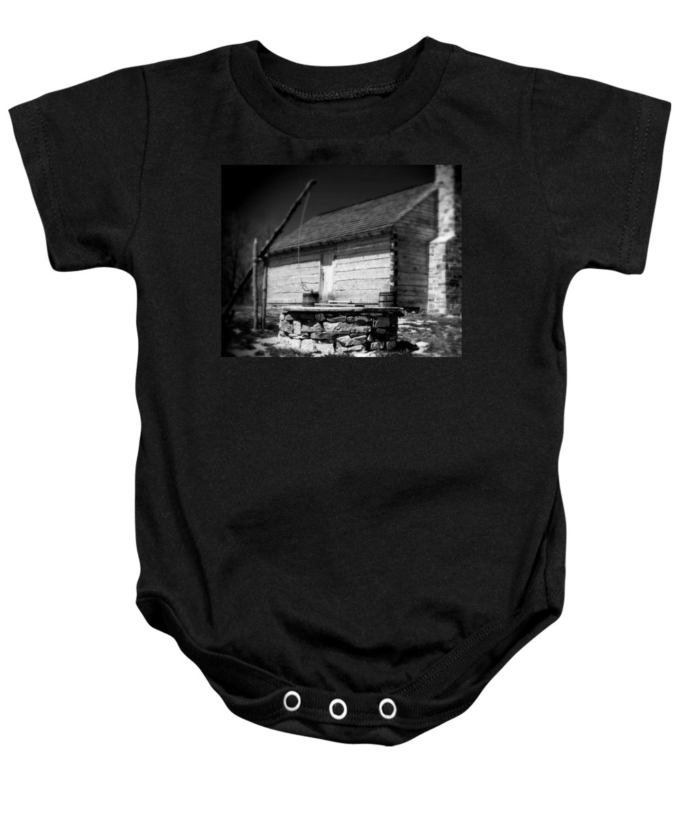 Army Baby Onesie featuring the photograph Way Station French And Indian War by Jean Macaluso