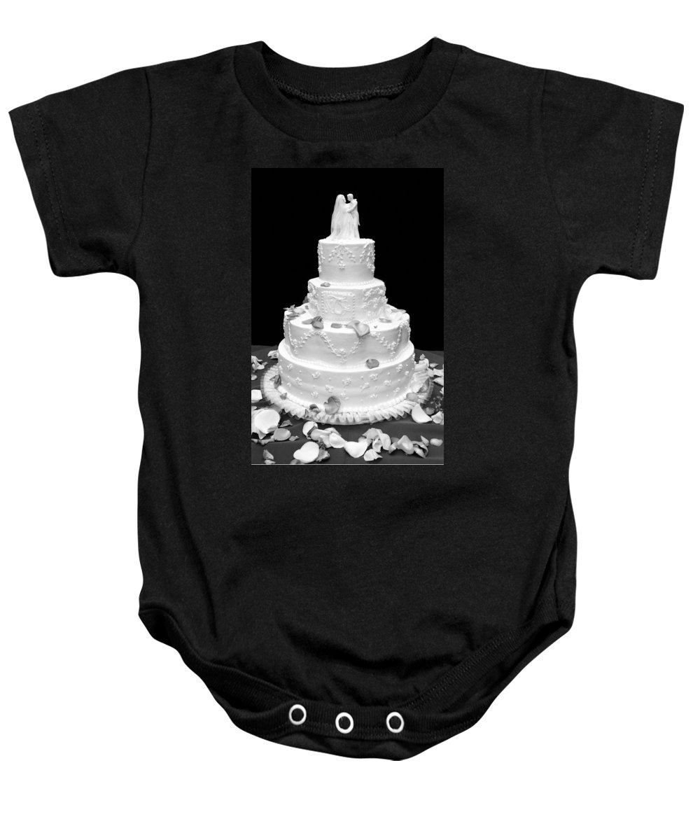 Wedding Baby Onesie featuring the photograph Wedding Cake by Marilyn Hunt