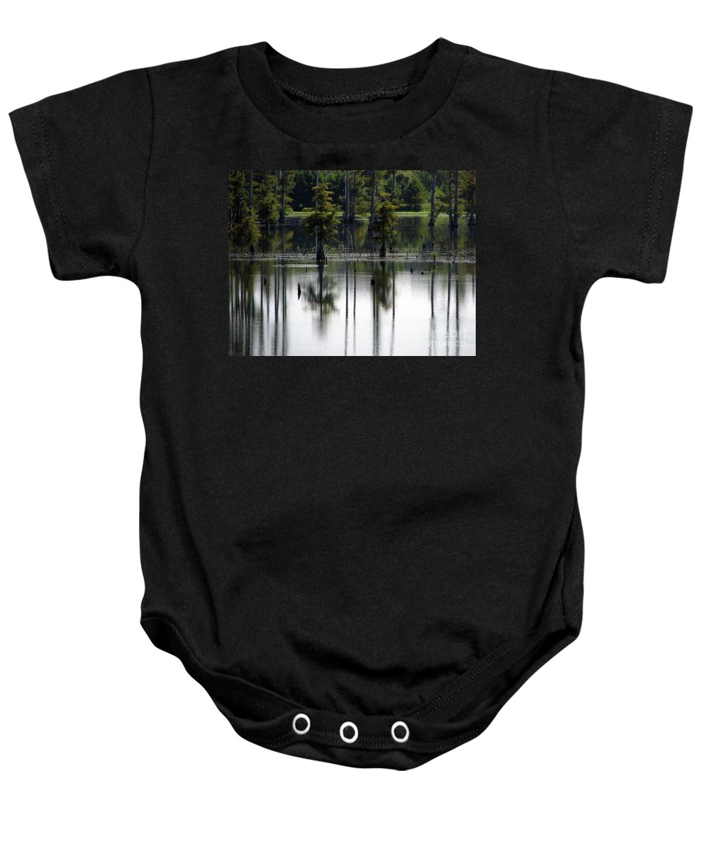 Wetlands Baby Onesie featuring the photograph Wetland by Amanda Barcon