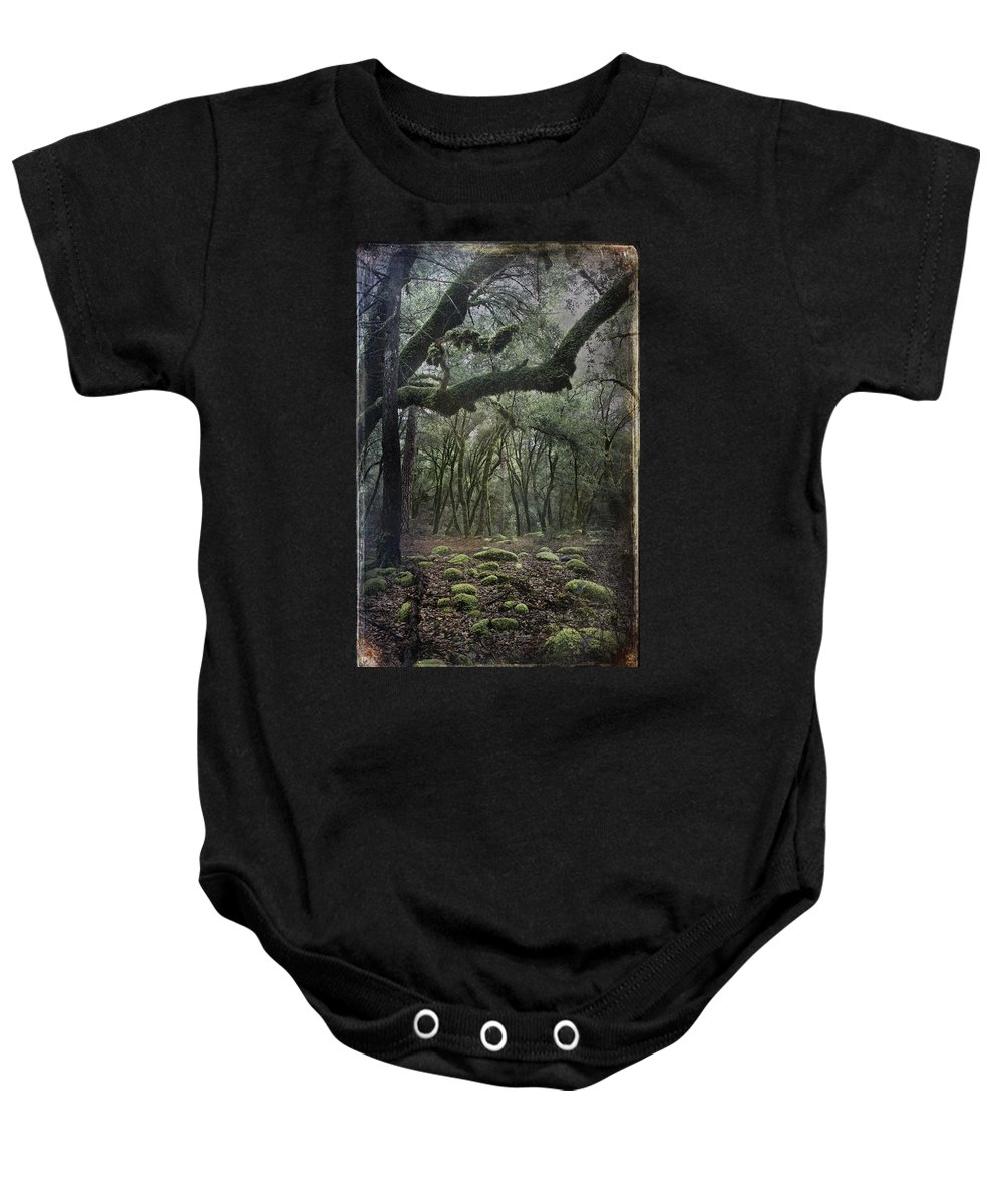 Landscape Baby Onesie featuring the photograph Where The Wild Hearts Roam by Laurie Search