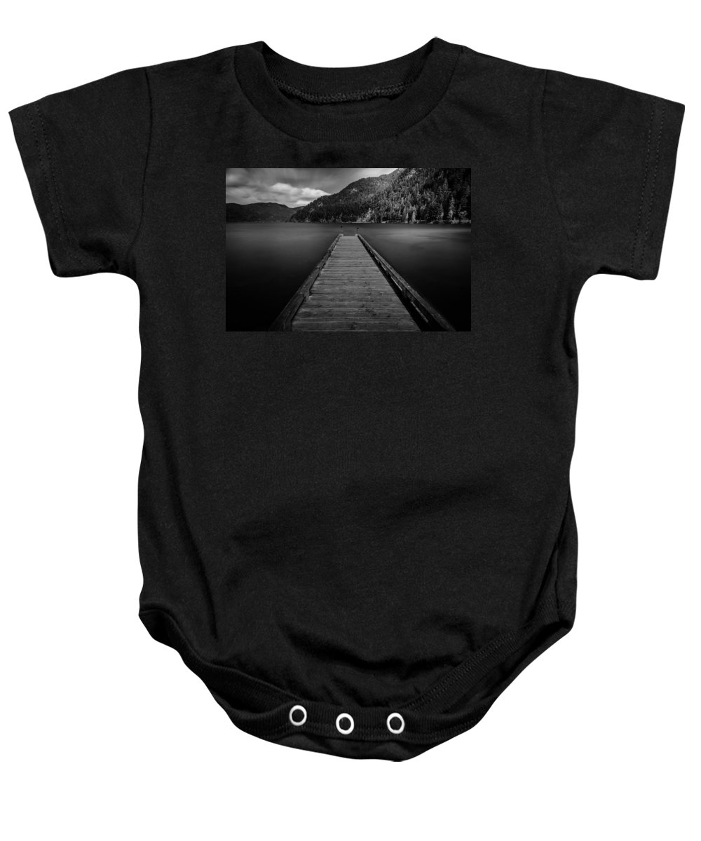 Olympic Peninsula Baby Onesie featuring the photograph Whispers Of Chronos by Mark Robert Rogers