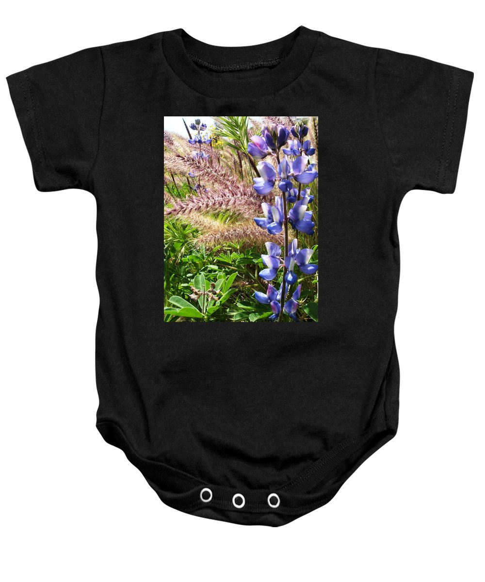 Flower Baby Onesie featuring the photograph Wild Flower by Shari Chavira