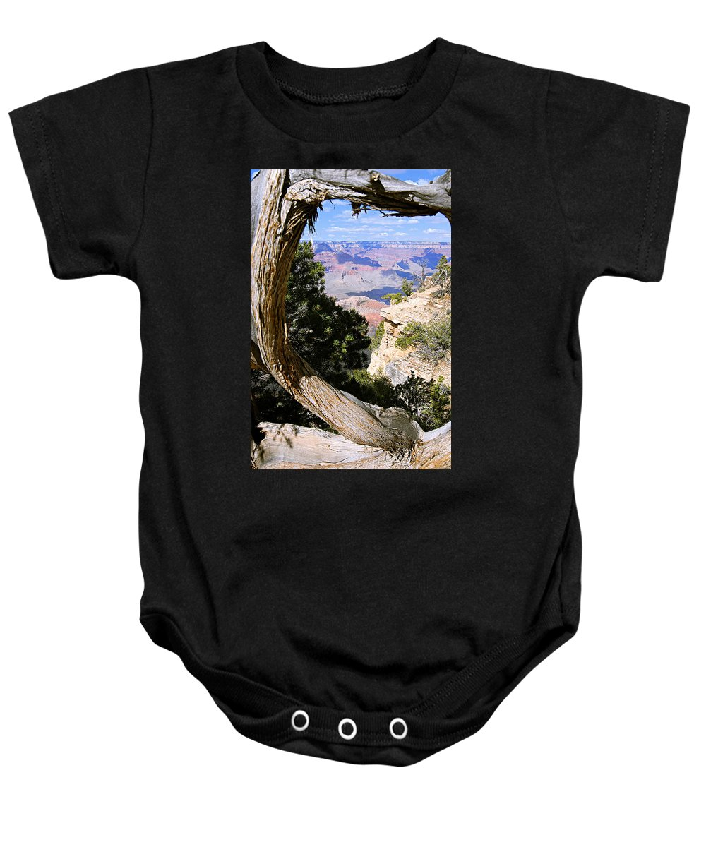 Grand Canyon National Park Baby Onesie featuring the photograph Window To The Past 21 - Grand Canyon by Larry Ricker