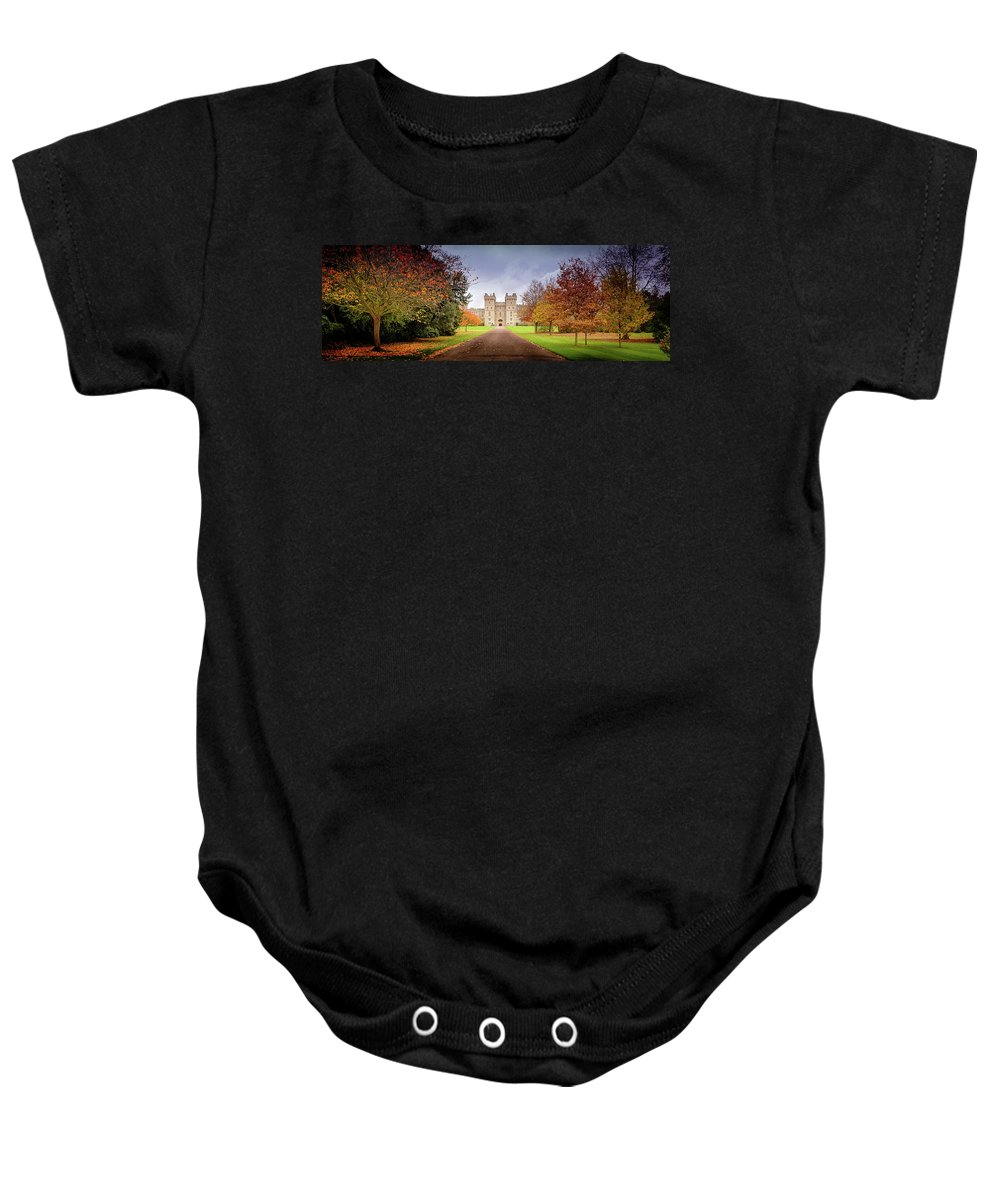 Castle Baby Onesie featuring the photograph Windsor Warmer by Geoff Eccles