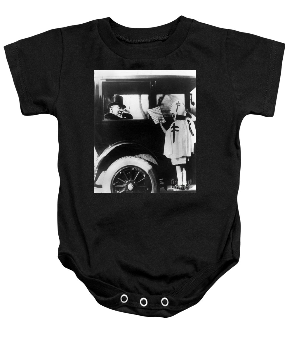 1923 Baby Onesie featuring the photograph Woodrow Wilson (1856-1924) by Granger