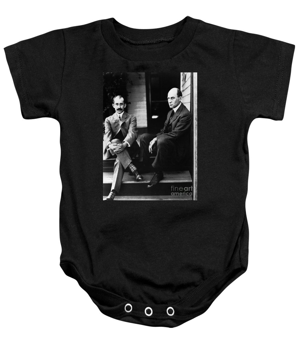 19th Century Baby Onesie featuring the photograph Wright Brothers by Granger