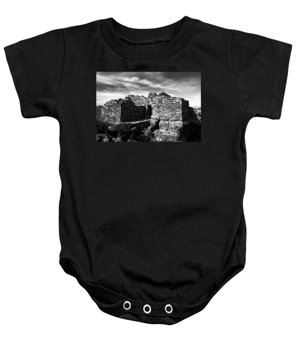 Wupatki National Monument Arizona Baby Onesie featuring the photograph Wupatki by David Lee Thompson