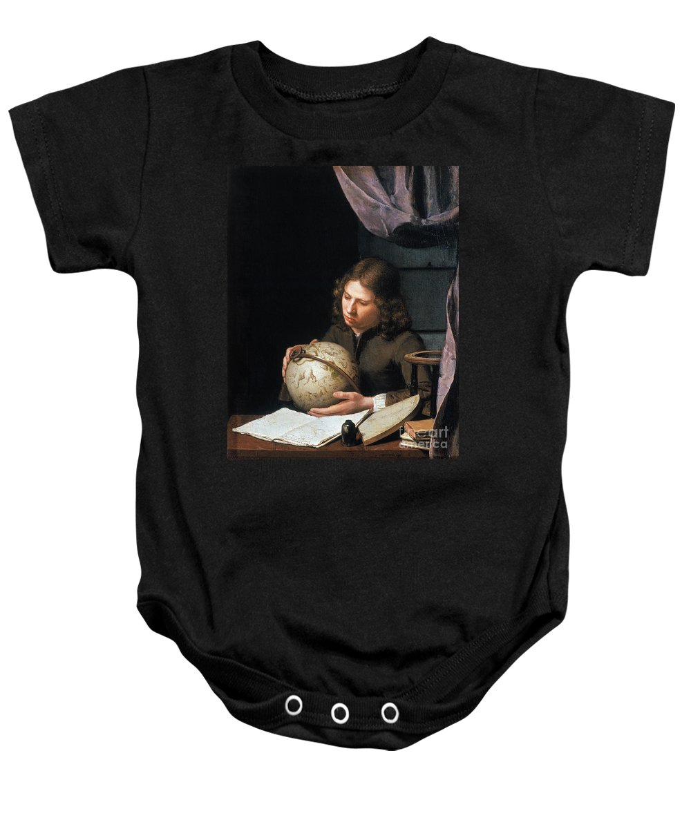 Astronomer Baby Onesie featuring the photograph Young Astronomer by Granger