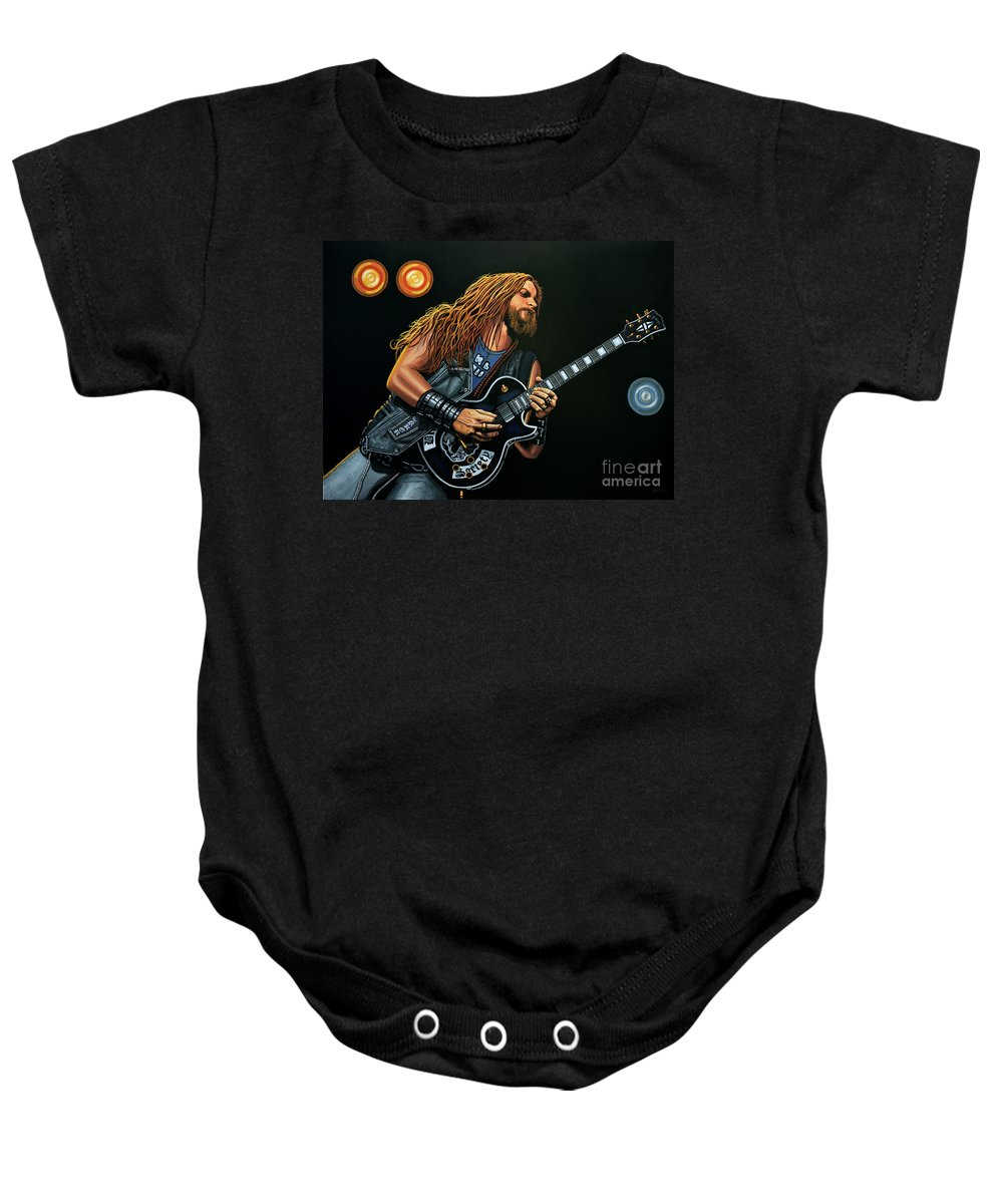 Black Label Society Baby Onesies