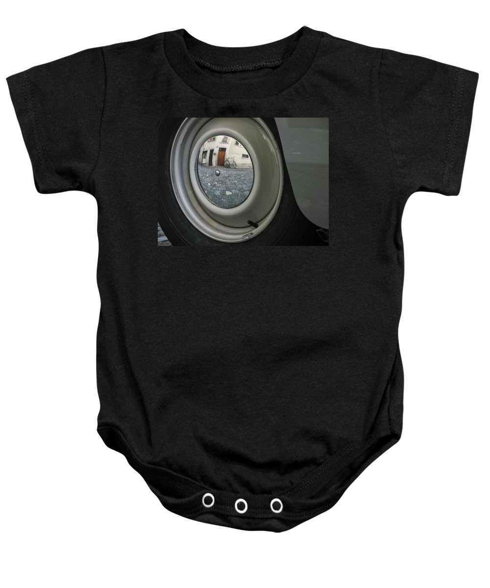Zurich Baby Onesie featuring the photograph Zurich by David Gaynor