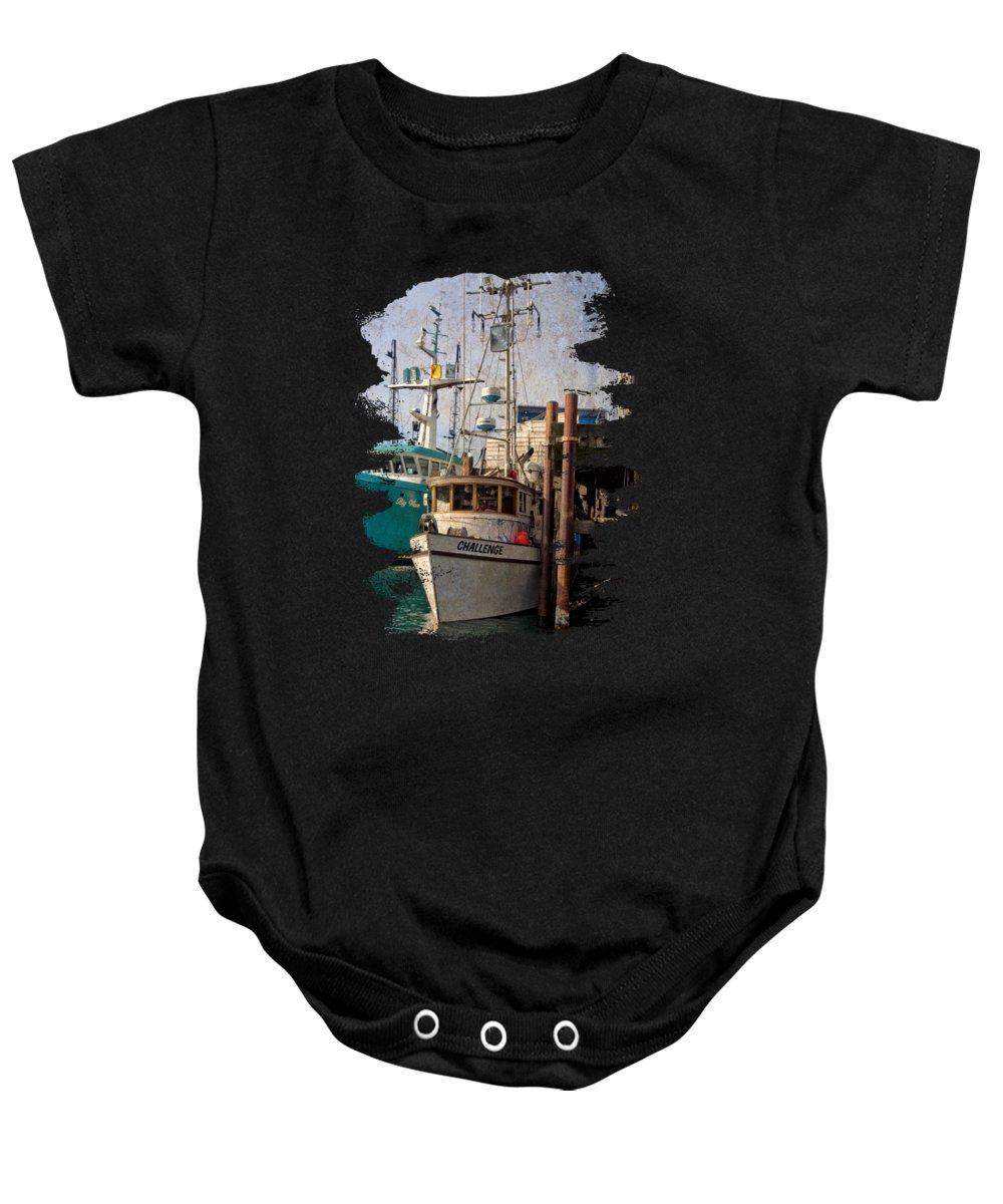 Newport Baby Onesie featuring the photograph Challenge by Thom Zehrfeld