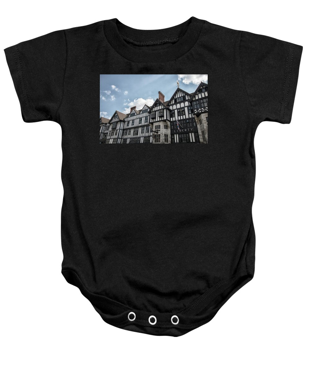 City Baby Onesie featuring the photograph Liberty by Martin Newman