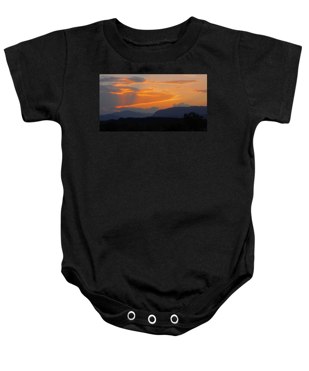 Europe Baby Onesie featuring the photograph Good Night Carinthia by Juergen Weiss