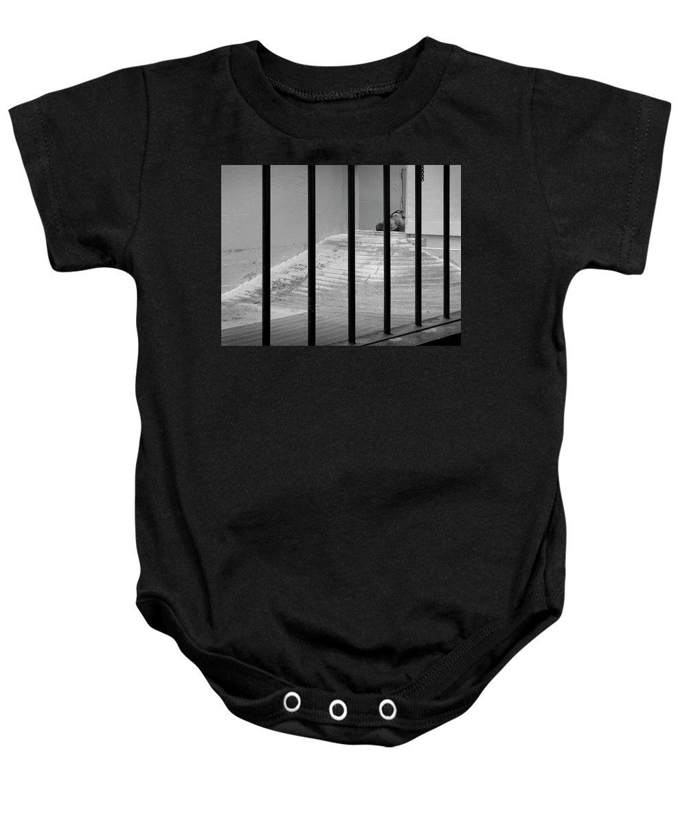 Baby Onesie featuring the photograph Hippo by Craig Andrews