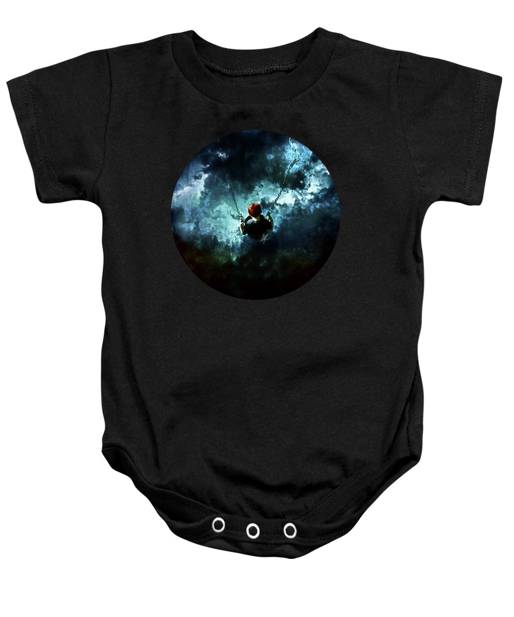 Storm Digital Art Baby Onesies