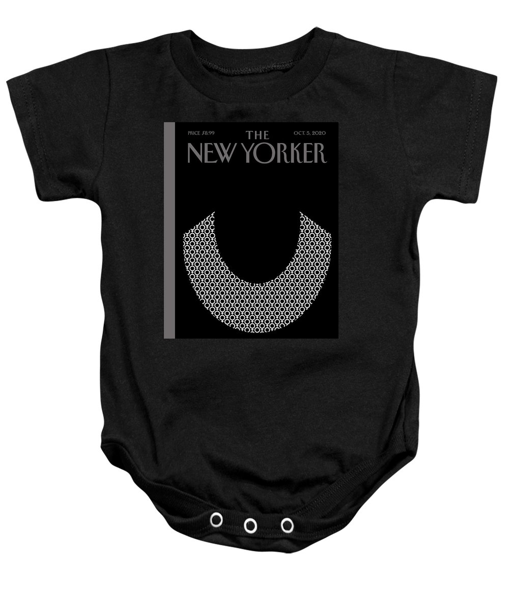 Rbg Baby Onesie featuring the digital art Icons by Bob Staake