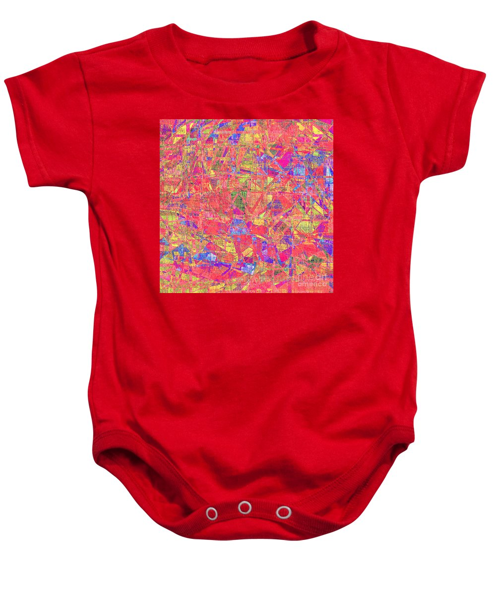 Abstract Baby Onesie featuring the digital art 1262 Abstract Thought by Chowdary V Arikatla