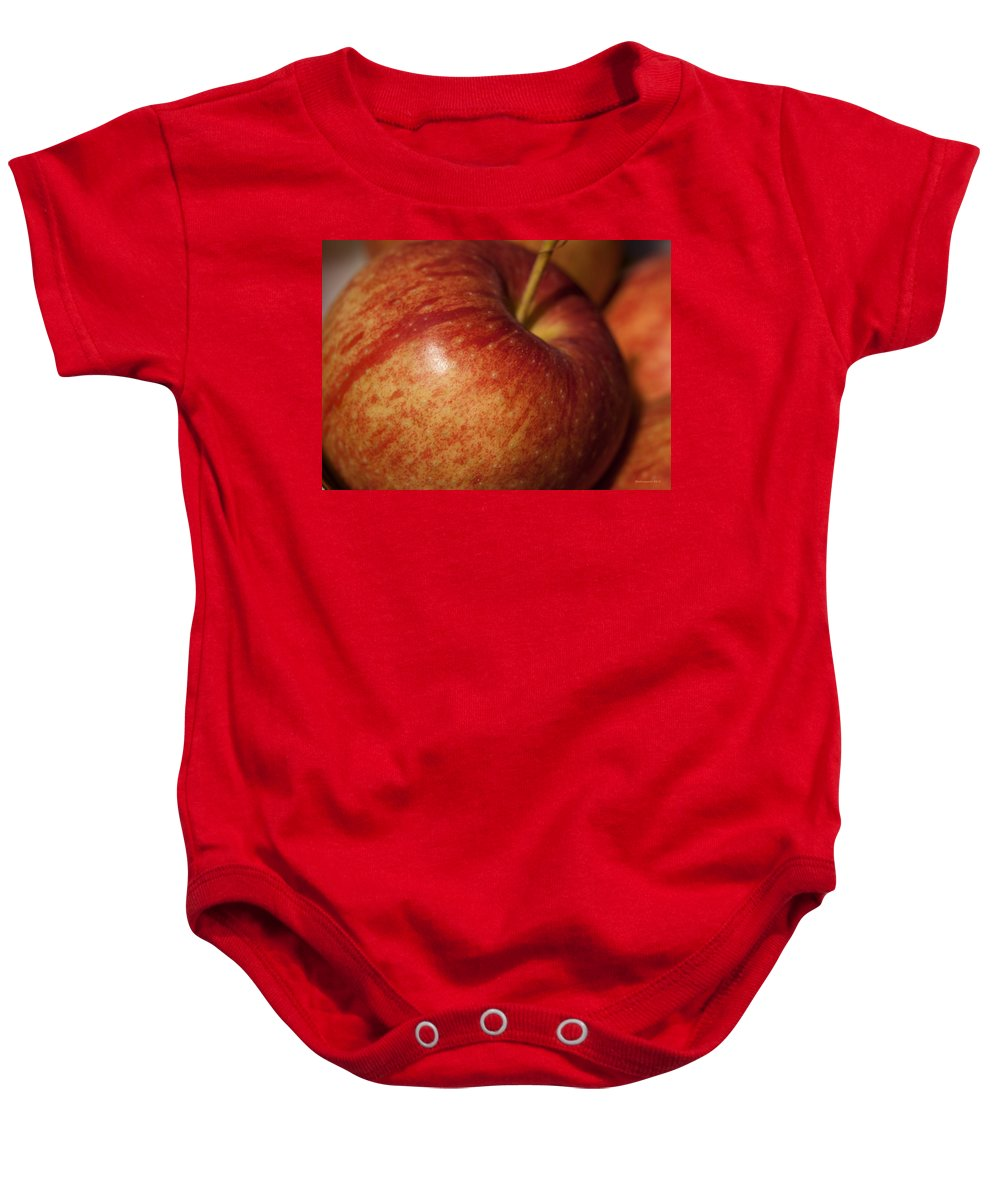 Apple Baby Onesie featuring the photograph Apple by Miguel Winterpacht