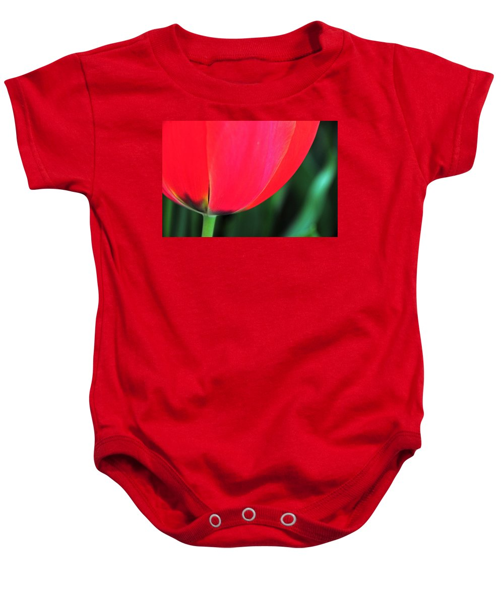 Flower Baby Onesie featuring the photograph Beneath by Mike Martin