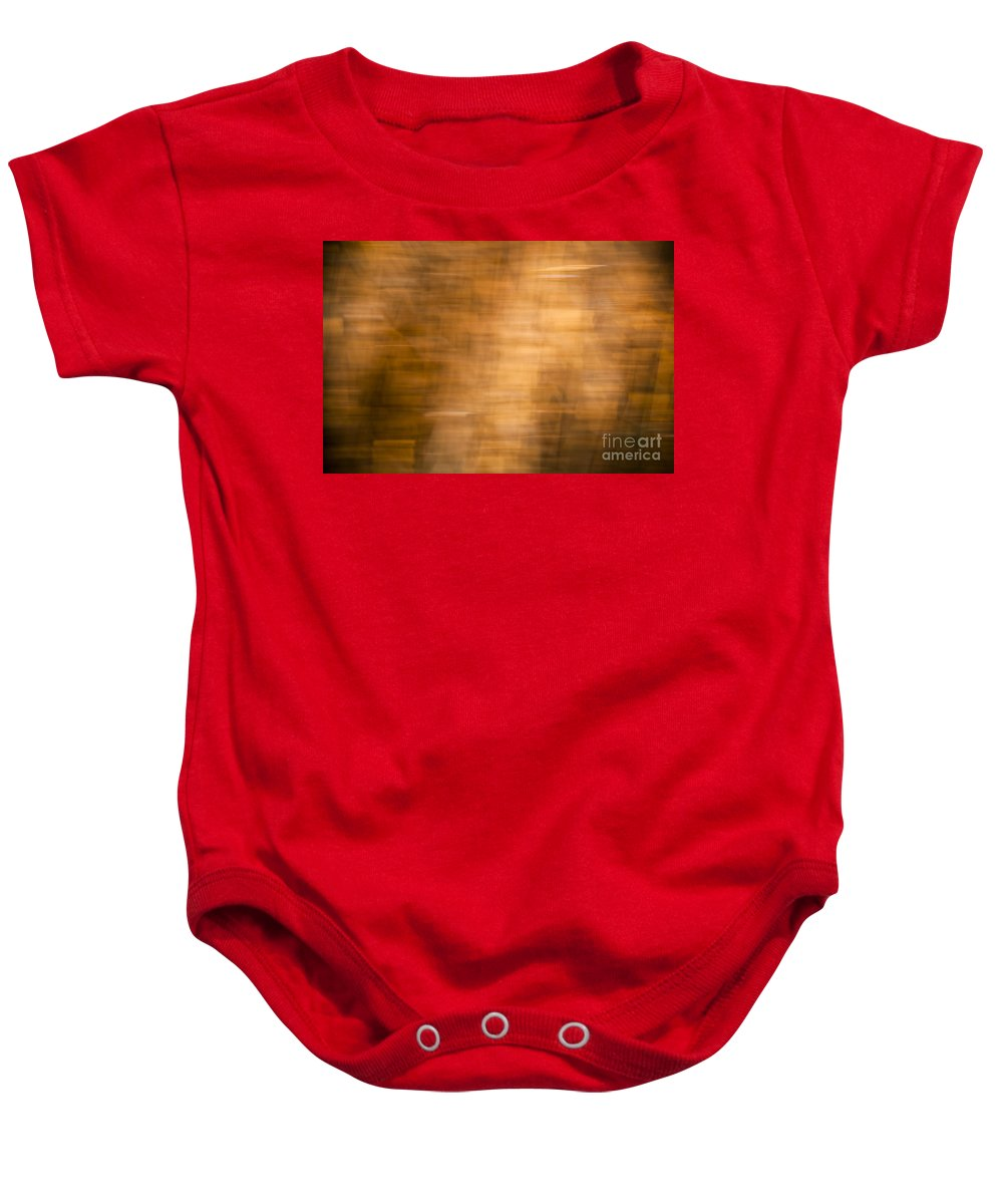 Background Baby Onesie featuring the photograph Brown Background by Tim Hester