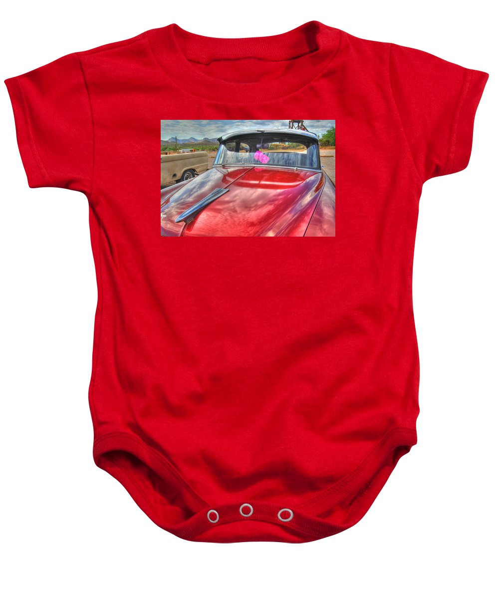 Chevy Baby Onesie featuring the photograph Chevy Classic by Tam Ryan
