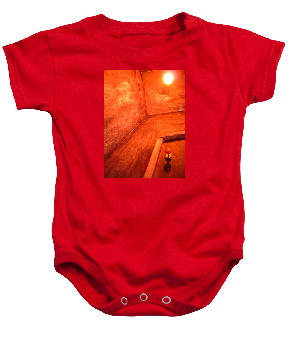 Childhood Baby Onesie featuring the photograph Childhod Memories 2 by Jean Walker