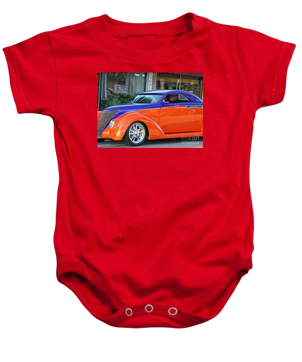 Car Show Baby Onesie featuring the photograph Cool Cruisin by Tap On Photo