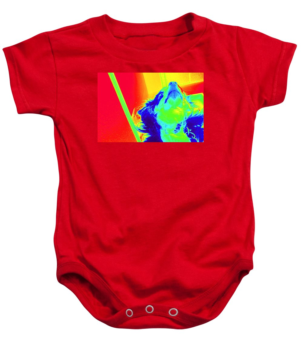 Nirvana Baby Onesie featuring the photograph Cosmic Consciousness Too by Del Gaizo