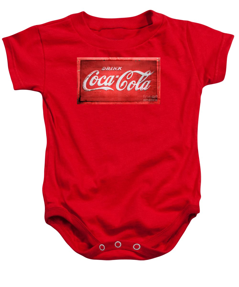 Drink Baby Onesie featuring the photograph Drink by Perry Webster
