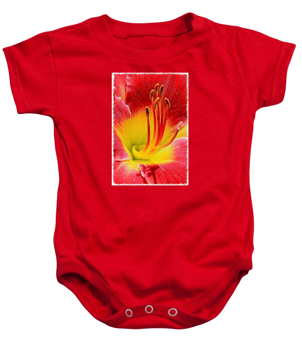 Nature Baby Onesie featuring the photograph Flower 5 by Albert Fadel