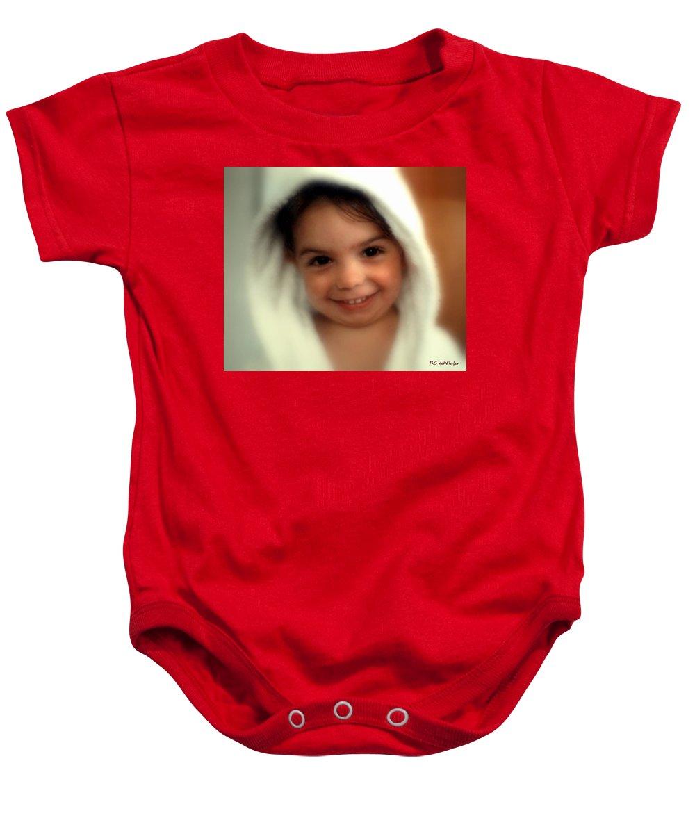 Child Baby Onesie featuring the photograph In Da Hood by RC DeWinter