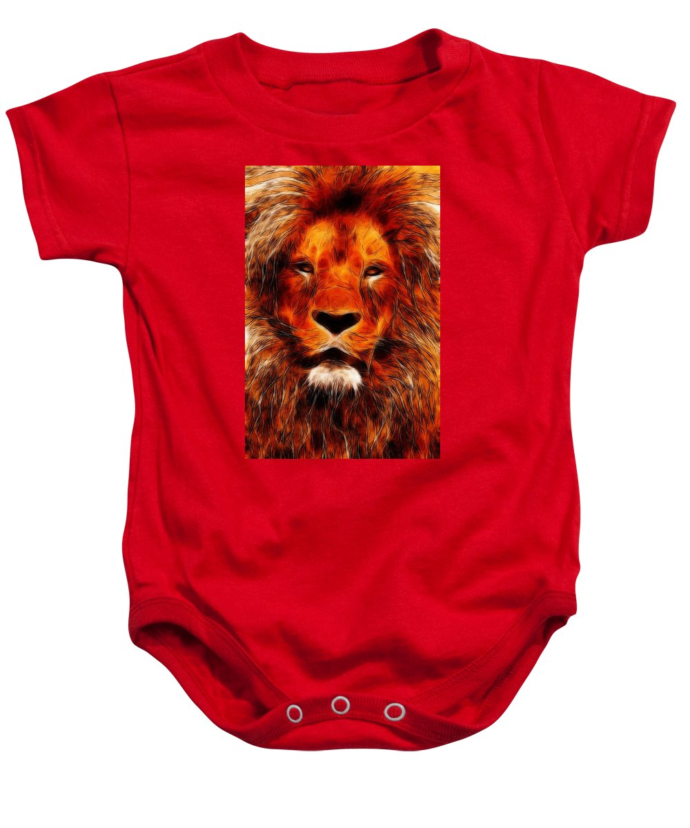 826e8dabd7623 King Of The Jungle Onesie for Sale by Steve K