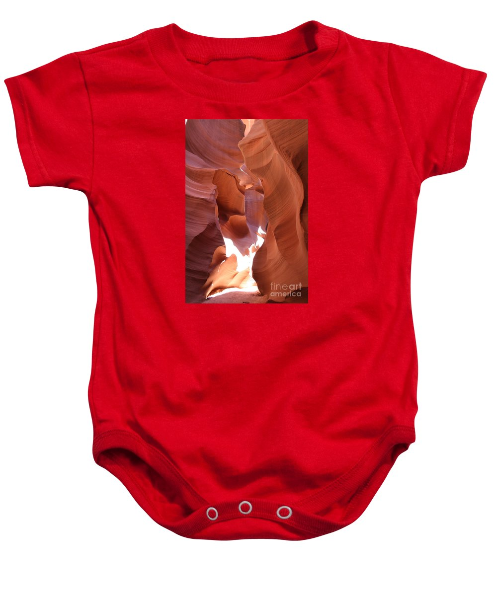 Canyon Baby Onesie featuring the photograph Narrow Canyon Xiii by Christiane Schulze Art And Photography